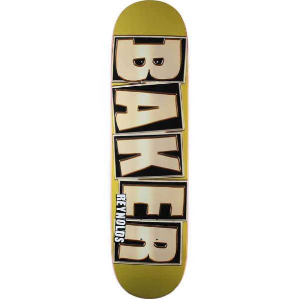 baker skateboards andrew reynolds brand name glitter gold