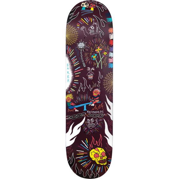 "Baker Skateboards Andrew Reynolds Happy Campers Skateboard Deck - 8.38"" x 32"""