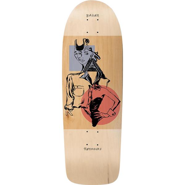 """Baker Skateboards Andrew Reynolds Mind Bends Skateboard Deck - 9.89"""" x 29.75"""""""