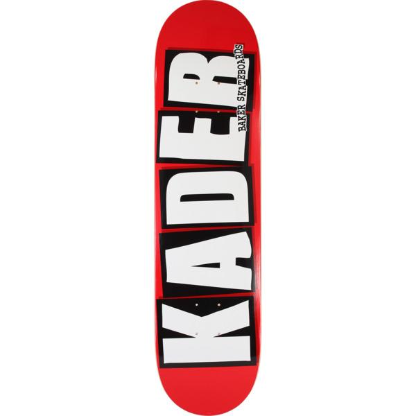 "Baker Skateboards Kader Sylla Logo Skateboard Deck - 8"" x 31.5"""