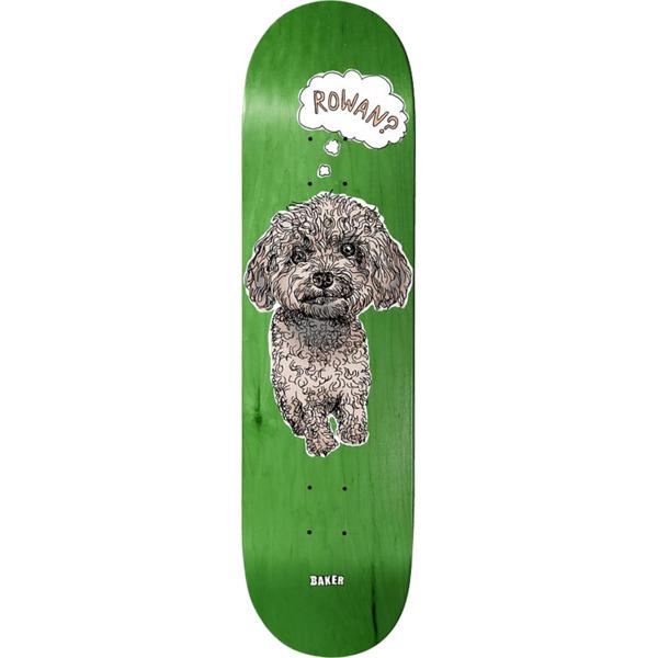 "Baker Skateboards Rowan Zorilla Animals Skateboard Deck - 8"" x 31.5"""