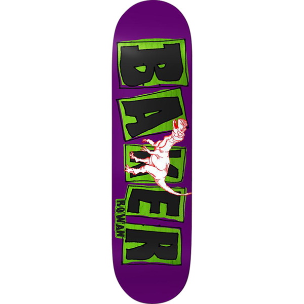"Baker Skateboards Rowan Zorilla Brand Name Flash Skateboard Deck - 7.87"" x 31.25"""