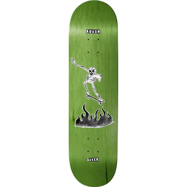 """Baker Skateboards Rowan Zorilla Cremation Mayhem Skateboard Deck - 8.5"""" x 32"""""""