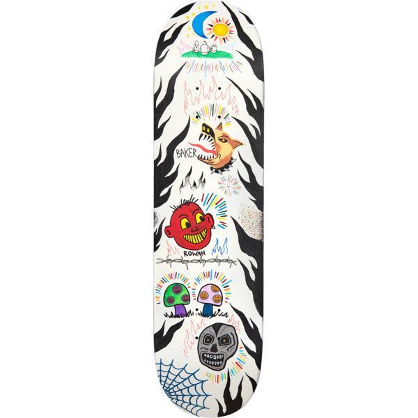 """Baker Skateboards Rowan Zorilla Happy Campers Skateboard Deck - 8.5"""" x 32"""""""