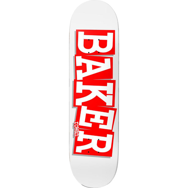 "Baker Skateboards Rowan Zorilla Ribbon Name Skateboard Deck - 8.12"" x 31.875"""