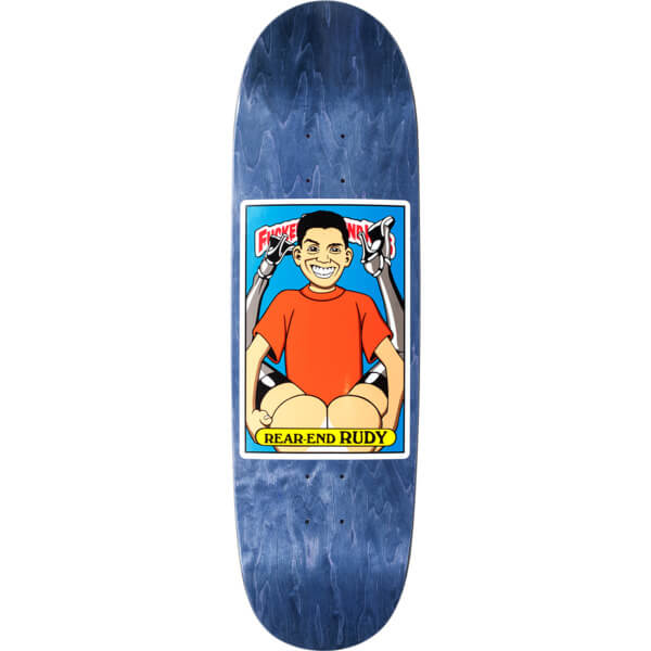 "Blind Skateboards Rudy Johnson FUBK Rear End Rudy Skateboard Deck - 8.98"" x 31.8"""