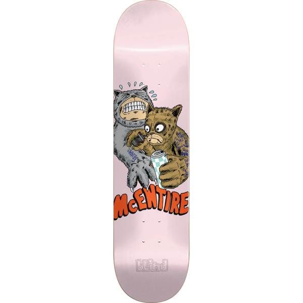"Blind Skateboards Cody McEntire Fos Furry Skateboard Deck Resin-7 - 8"" x 31.7"""