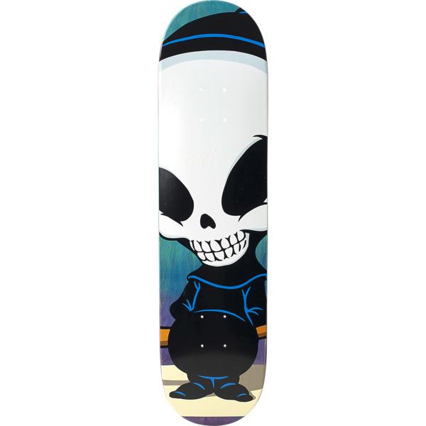 "Blind Skateboards Micky Papa Mega Reaper Blue Skateboard Deck - 7.75"" x 31.1"""