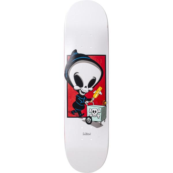 """Blind Skateboards Roger Reaper Box White R7 - 8"""" x 31.6"""""""