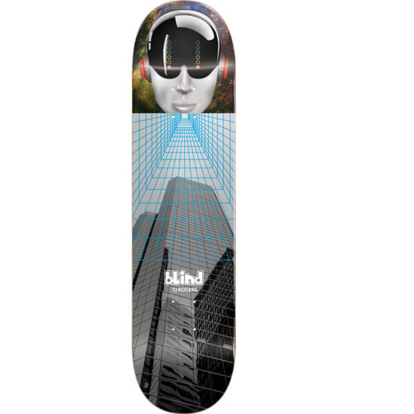 "Blind Skateboards TJ Rogers Space Case Skateboard Deck Resin-7 - 8.37"" x 32.2"""