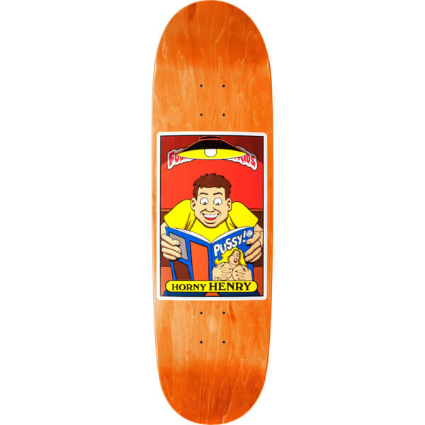 "Blind Skateboards Henry Sanchez FUBK Horny Henry Skateboard Deck - 8.94"" x 32"""
