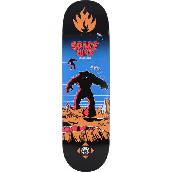 "Black Label Skateboards Space Junk Skateboard Deck - 8.75"" x 32.63"""