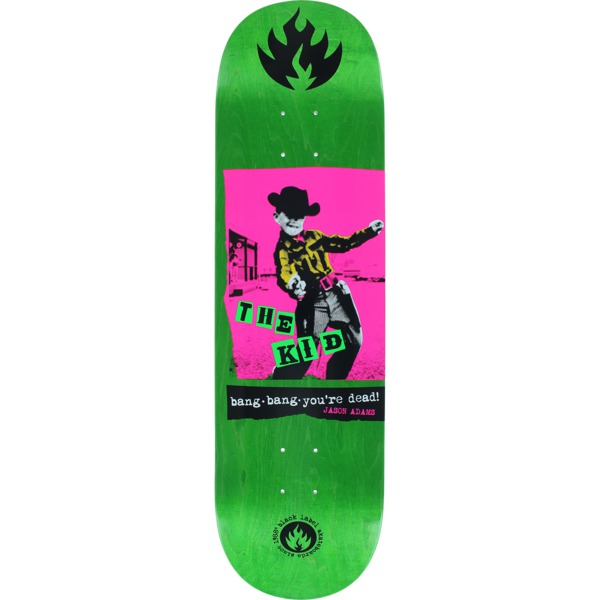 "Black Label Skateboards Jason Adams Bang Bang Skateboard Deck - 8.68"" x 32.25"""
