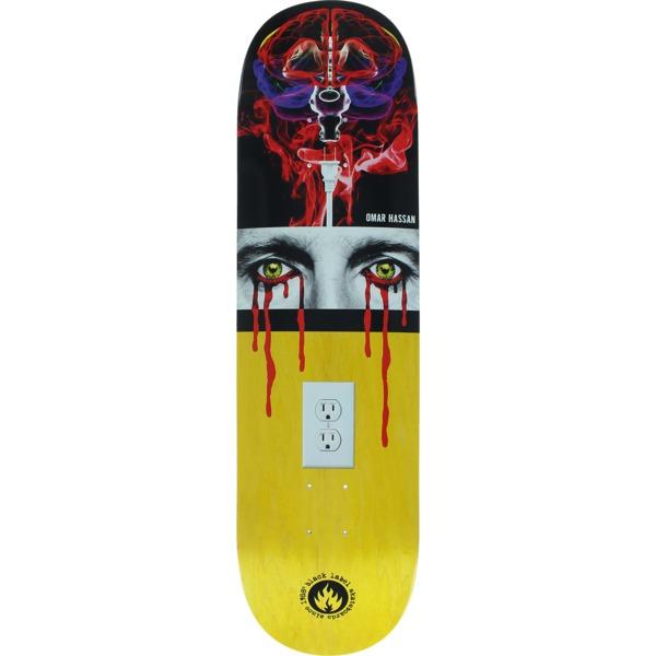 """Black Label Skateboards Omar Hassan Disconnected Skateboard Deck - 8.38"""" x 32.5"""""""