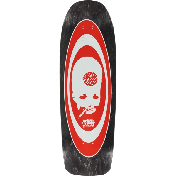 "Black Label Skateboards John Lucero Thumbhead 2 Black Stain Skateboard Deck - 10"" x 32.88"""