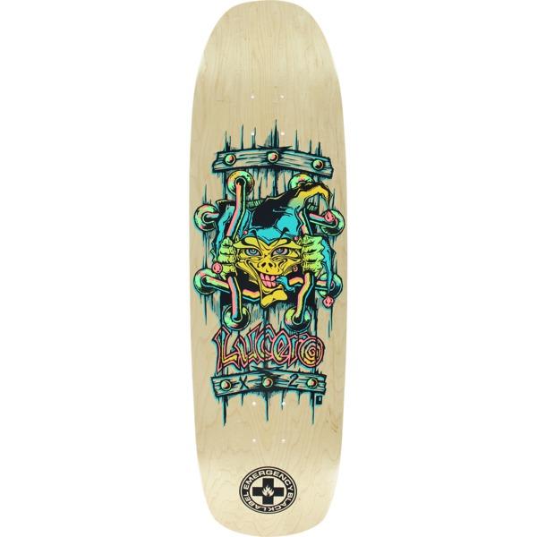 "Black Label Skateboards John Lucero X2 Natural Skateboard Deck - 8.88"" x 32.25"""