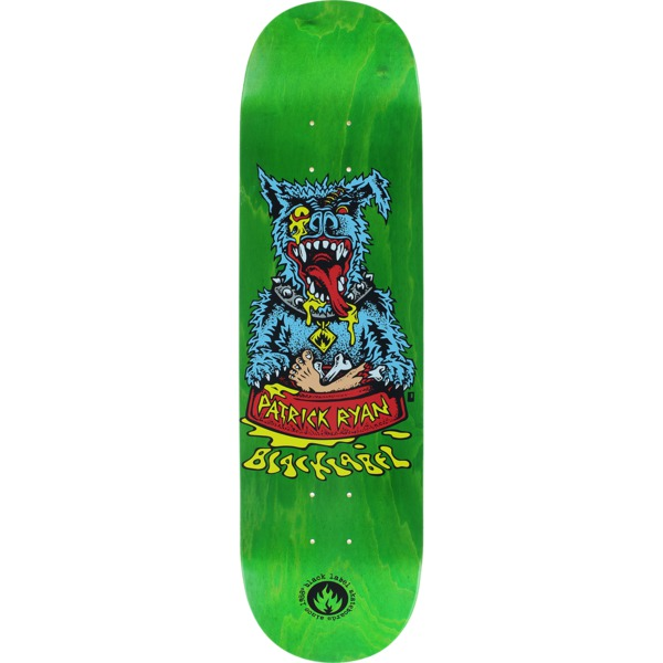 "Black Label Skateboards Patrick Ryan Sick Dog Skateboard Deck - 8.25"" x 32.12"""