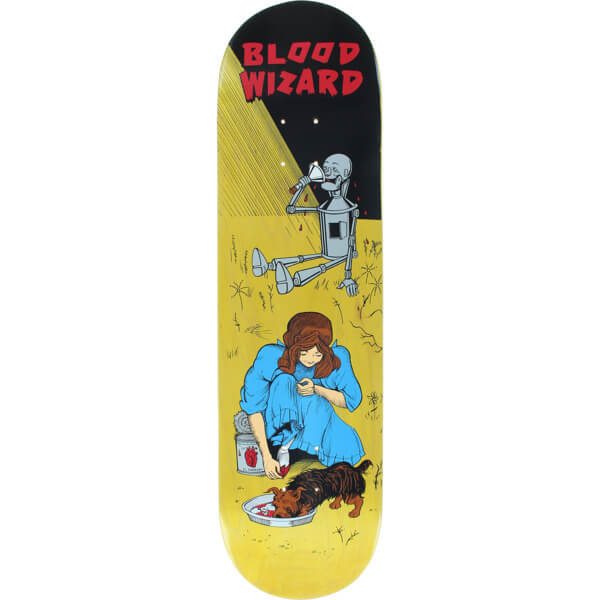 "Blood Wizard Skateboards OZ Dorothy Skateboard Deck - 8.25"" x 31.625"""