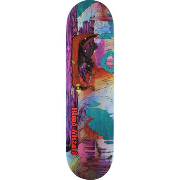 "Blood Wizard Skateboards Warship Skateboard Deck - 8.37"" x 31.63"""