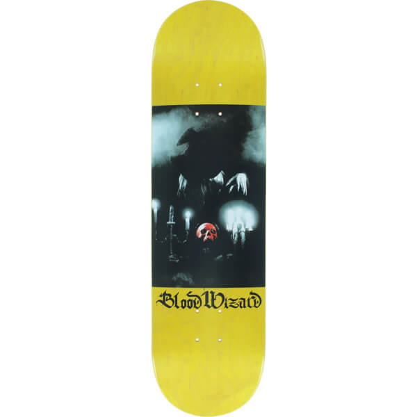 "Blood Wizard Skateboards Sorcerer Skateboard Deck - 8.25"" x 31.625"""