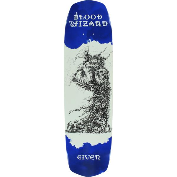 "Blood Wizard Skateboards Given Occult Neanderwolf Skateboard Deck - 8.25"" x 31.625"""