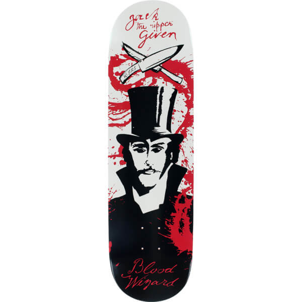 "Blood Wizard Skateboards Given Ripper Skateboard Deck - 8.5"" x 32"""