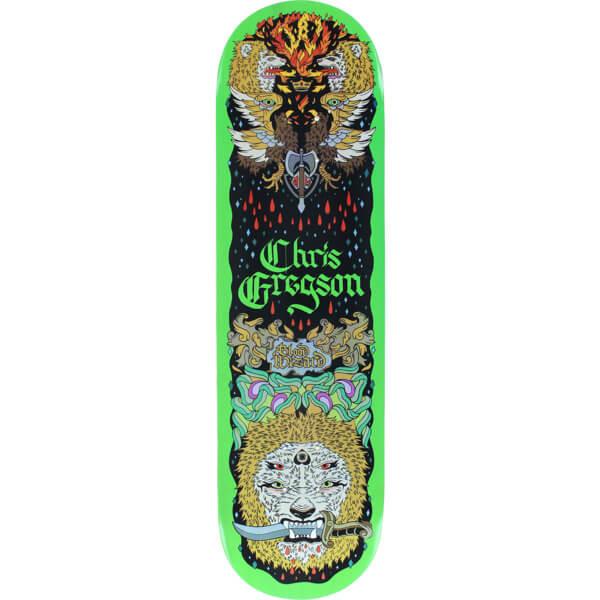 "Blood Wizard Skateboards Chris Gregson Lion Skateboard Deck - 8.5"" x 32"""