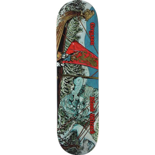 "Blood Wizard Skateboards Chris Gregson Warship Skateboard Deck - 8.5"" x 32"""