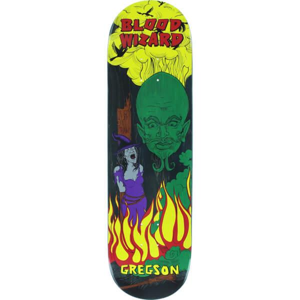"Blood Wizard Skateboards Chris Gregson Wizard Skateboard Deck - 8.5"" x 32"""