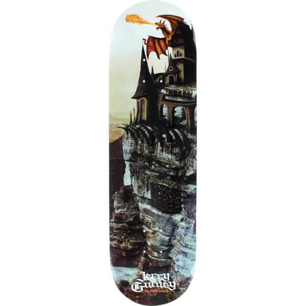Blood Wizard Skateboards Jerry Gurney Cliff Deck