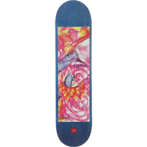 "Chocolate Skateboards Jesus Fernandez Espana Skateboard Deck - 8.25"" x 32"""