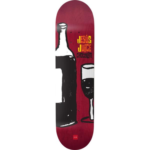"Chocolate Skateboards Jesus Fernandez Juice Skateboard Deck - 8.25"" x 32"""