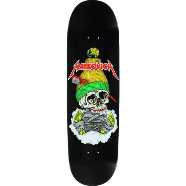 "Cliche Skateboards Kris Markovich Skull Black Skateboard Deck Heat Transfer Artwork - 8.5"" x 31.75"""