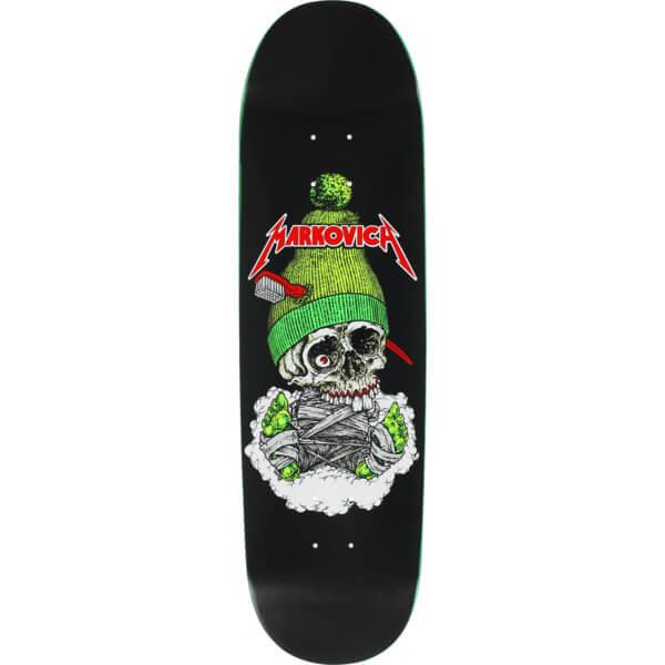 "Cliche Skateboards Kris Markovich Skull Skateboard Deck Hand Silkscreen Artwork - 8.5"" x 31.1"""