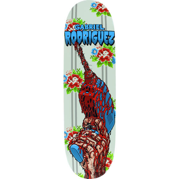 "Cliche Skateboards Gabriel Rodriguez Drill Skateboard Deck Heat Transfer Artwork - 9"" x 32"""