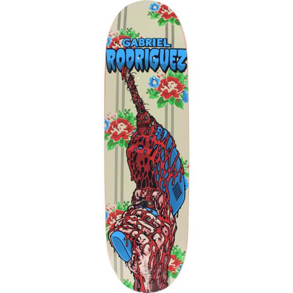 """Cliche Skateboards Gabriel Rodriguez Drill Skateboard Deck Hand Silkscreen Artwork - 8.9"""" x 32"""""""