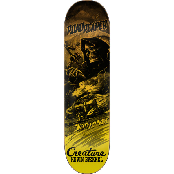 "Creature Skateboards Kevin Baekkel Roadside Terror Skateboard Deck Powerply - 8.6"" x 32.11"""