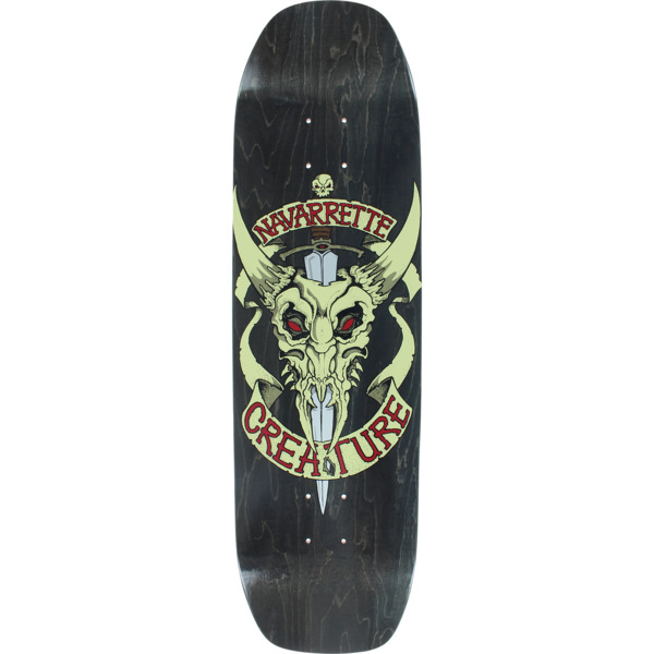 eb646d43 Creature Skateboards Darren Navarette Cowskull Skateboard Deck - 8.8 x 32.5  - Warehouse Skateboards