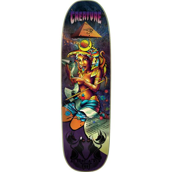 "Creature Skateboards Partenen Emerald Tablet Skateboard Deck - 8.8"" x 32.2"""