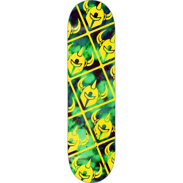 "Darkstar Skateboards Crisp Green / Yellow Skateboard Deck - 7.75"" x 31.2"""