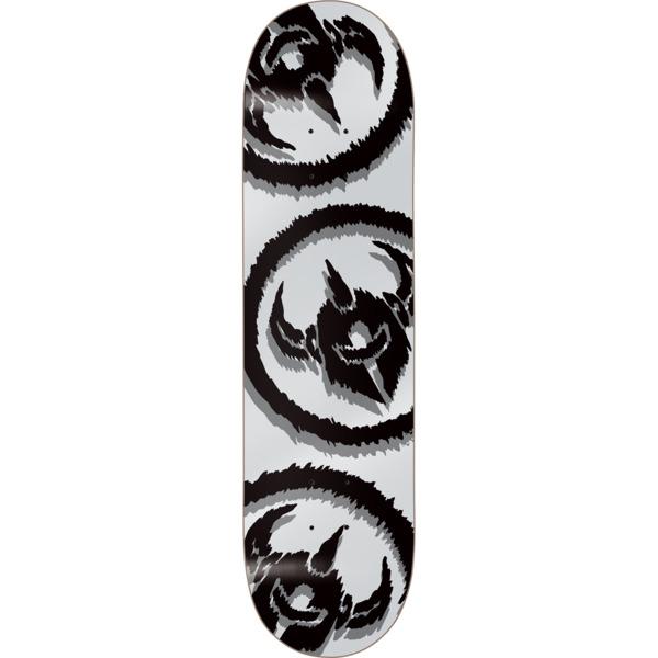 """Darkstar Skateboards Dissent Silver Skateboard Deck - 7.75"""" x 31.2"""""""