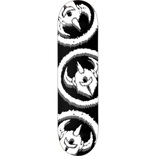 """Darkstar Skateboards Dissent Black Skateboard Deck - 8.25"""" x 31.5"""""""