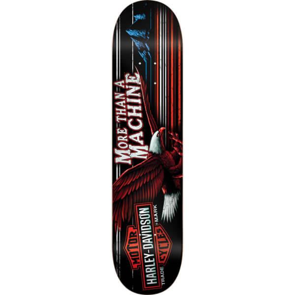 "Darkstar Skateboards Harley Davidson Highway Skateboard Deck - 8"" x 31.6"""
