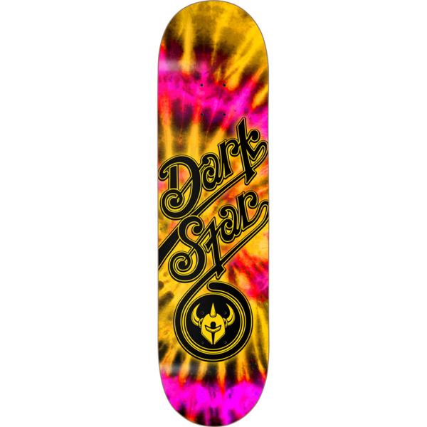 "Darkstar Skateboards Insignia Yellow Skateboard Deck - 8"" x 31.6"""