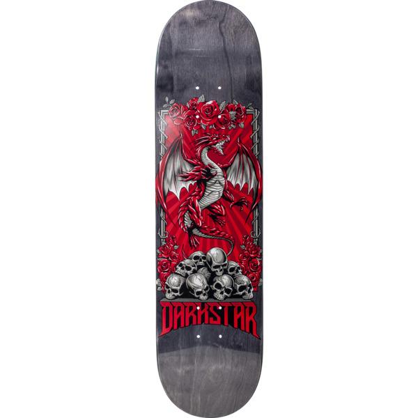 "Darkstar Skateboards Levitate Red Skateboard Deck - 8"" x 31.6"""