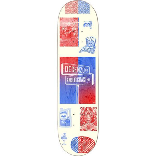"Darkstar Skateboards Ryan Decenzo Cross Streets Skateboard Deck Resin-7 - 8.37"" x 31.9"""
