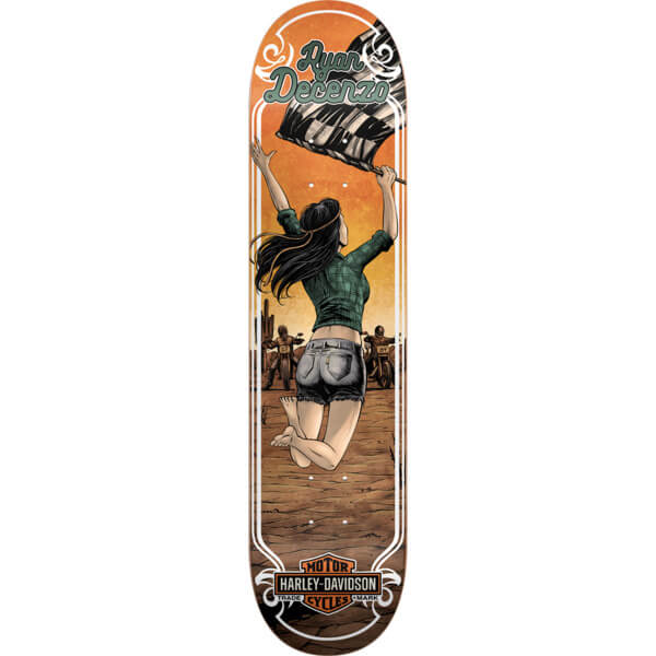 """Darkstar Skateboards Ryan Decenzo Harley Motor Skateboard Deck Resin-7 - 8.25"""" x 31.8"""""""