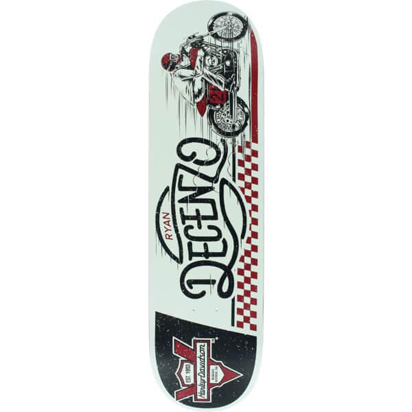 "Darkstar Skateboards Ryan Decenzo Racing Harley Davidson Skateboard Deck Resin-7 - 8.25"" x 31.7"""