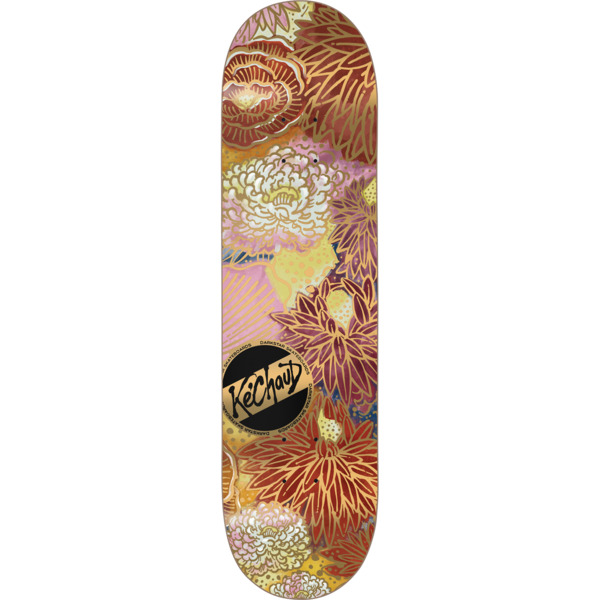 "Darkstar Skateboards Ke'Chaud Johnson Gold Lines Skateboard Deck Resin-7 - 8.12"" x 31.7"""