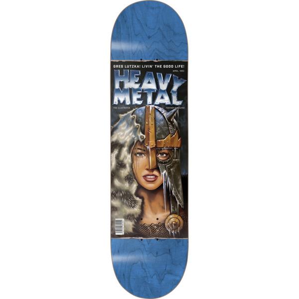 "Darkstar Skateboards Greg Lutzka Heavy Metal II Skateboard Deck Resin-7 - 8.37"" x 31.9"""